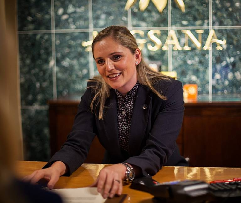 Fiona Collins - Angsana Spa Manager