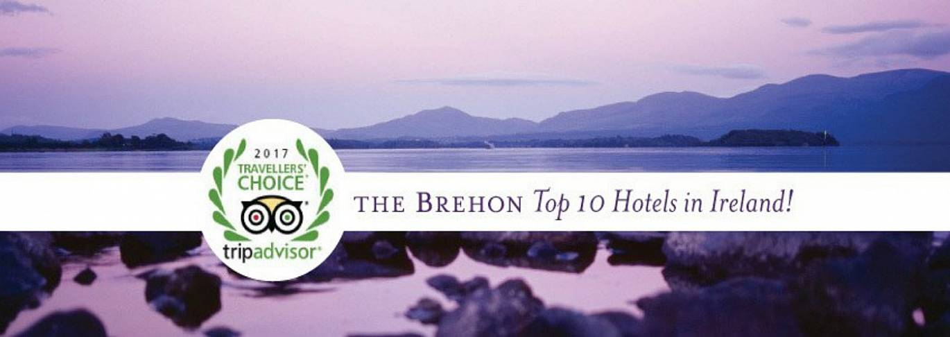 Number 7 in Tripadvisors' top 10 Irish Hotels, Enjoy 10% off B & B