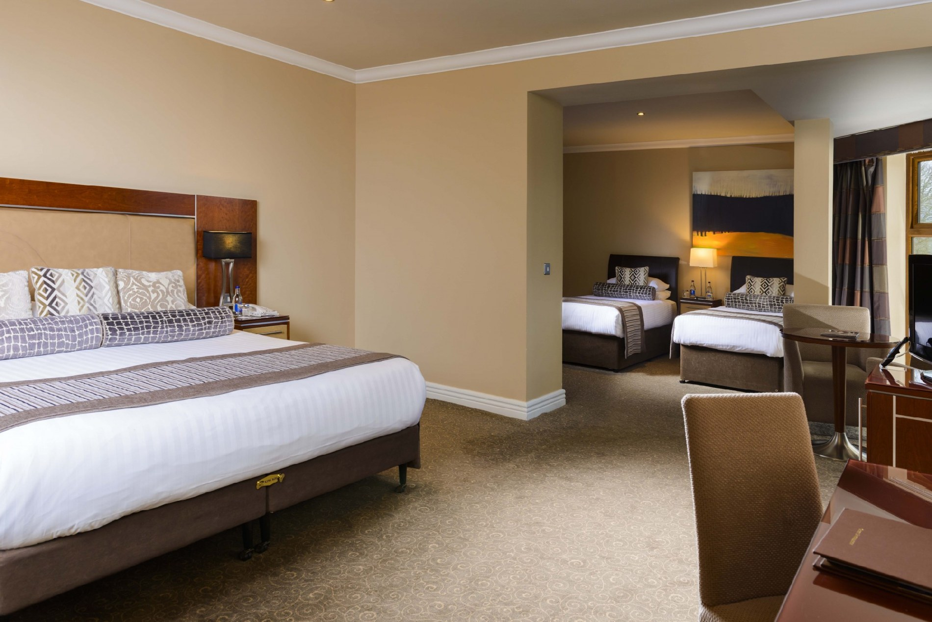 Our Family Rooms U0026 Suites Offer The Choice Of A Large Spacious Deluxe Room  With A King Bed And A Single Bed, Open Plan Suites Or Two Interconnecting  ...
